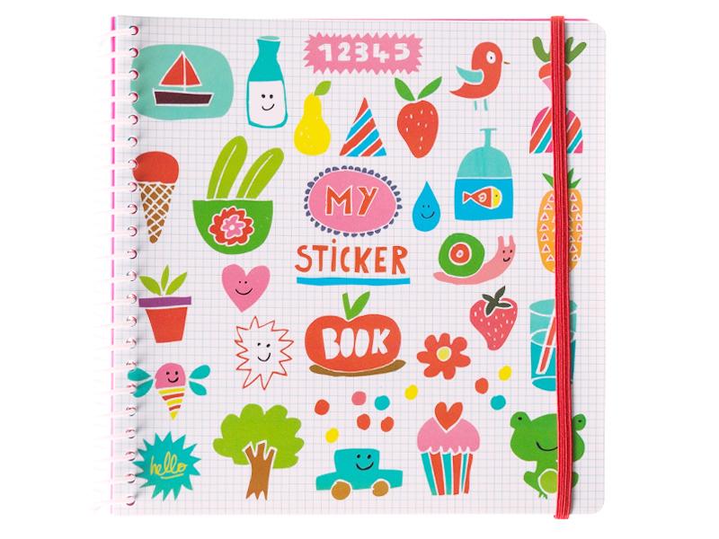 Acheter Cahier pour autocollant / Sticker book Imagier Rigolo - 12,49€ en ligne sur La Petite Epicerie - 100% Loisirs créatifs
