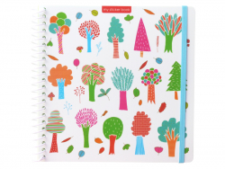 Acheter Cahier pour autocollant / Sticker book Arbre - 12,49€ en ligne sur La Petite Epicerie - Loisirs créatifs