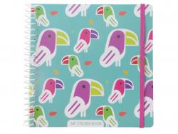 Acheter Cahier pour autocollant / Sticker book Toucan - 12,49€ en ligne sur La Petite Epicerie - Loisirs créatifs