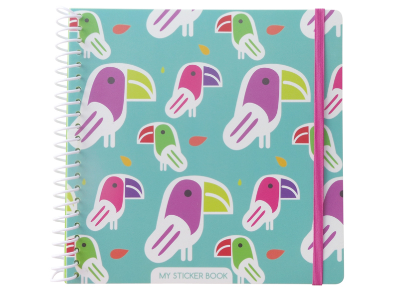 Acheter Cahier pour autocollant / Sticker book Toucan - 12,49€ en ligne sur La Petite Epicerie - 100% Loisirs créatifs