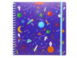 Acheter Cahier pour autocollant / Sticker book Espace - 12,49€ en ligne sur La Petite Epicerie - Loisirs créatifs