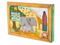 Acheter Coffret peinture magique à l'eau pour bébé - le safari - 9,99€ en ligne sur La Petite Epicerie - Loisirs créatifs