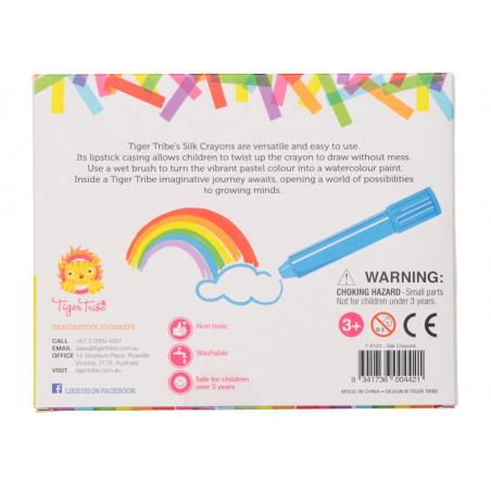 Acheter 8 crayons gel - couleurs vives - 8,99€ en ligne sur La Petite Epicerie - Loisirs créatifs