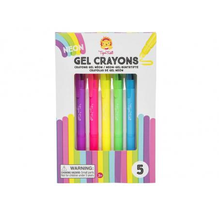 Acheter 5 crayons gel - couleur fluo - 8,99€ en ligne sur La Petite Epicerie - 100% Loisirs créatifs