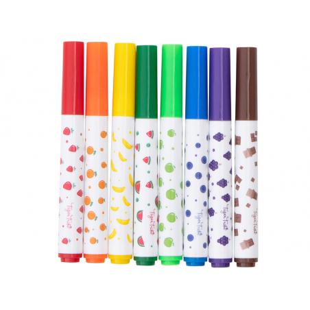 Acheter 8 feutres marqueurs parfumés - 8,99€ en ligne sur La Petite Epicerie - 100% Loisirs créatifs