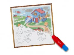 Acheter Coffret peinture magique à l'eau pour bébé - les véhicules - 9,99€ en ligne sur La Petite Epicerie - Loisirs créatifs