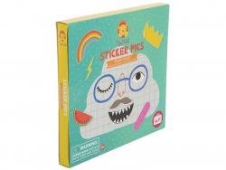 Acheter Coffret créatif - images à stickers - les visages rigolos - 7,99€ en ligne sur La Petite Epicerie - Loisirs créatifs