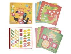 Acheter Coffret créatif - images à stickers - les animaux fous - 7,99€ en ligne sur La Petite Epicerie - Loisirs créatifs
