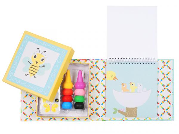 """Acheter Coffret de crayons de cire pour les bébés """"Oodle Doodle"""" - animaux - 15,99€ en ligne sur La Petite Epicerie - 100% L..."""
