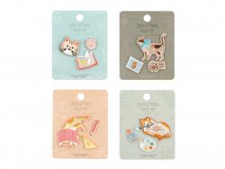Acheter 3 patchs thermocollants - le chat artiste - 3,99€ en ligne sur La Petite Epicerie - Loisirs créatifs