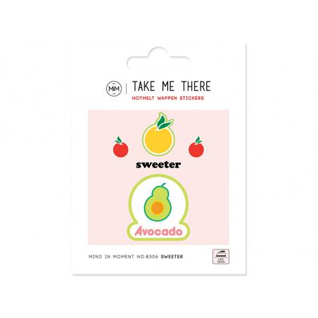 Acheter Ecussons avocado - 4,49€ en ligne sur La Petite Epicerie - Loisirs créatifs