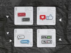 Acheter 2 patchs thermocollants - like / j'aime - 3,99€ en ligne sur La Petite Epicerie - Loisirs créatifs