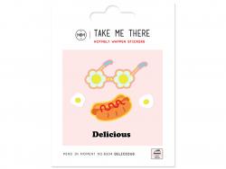 Acheter Ecussons hot dog et lunettes - 4,49€ en ligne sur La Petite Epicerie - Loisirs créatifs