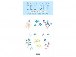 Acheter Tattoos éphémères fleurs bleues - 1,99€ en ligne sur La Petite Epicerie - 100% Loisirs créatifs
