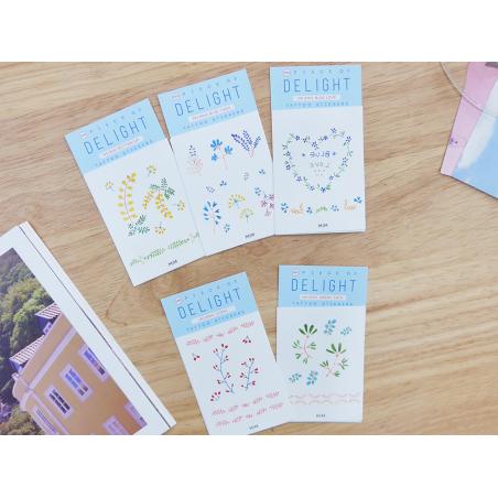Acheter Tattoos éphémères fleurs bleues - 1,99€ en ligne sur La Petite Epicerie - Loisirs créatifs