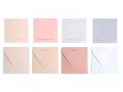 Acheter lot de 4 enveloppes et cartes de remerciement - 4,99€ en ligne sur La Petite Epicerie - 100% Loisirs créatifs