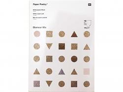 Acheter Bloc de papier A4 - Thème glamour - 11,79€ en ligne sur La Petite Epicerie - 100% Loisirs créatifs