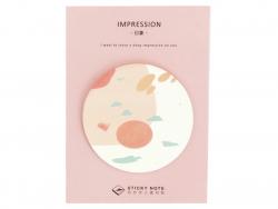 Acheter Lot de 30 notes adhésives - abstrait rose - 1,19€ en ligne sur La Petite Epicerie - Loisirs créatifs