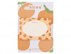 Acheter Bloc de 30 notes adhésives - mémo à oranges - 1,19€ en ligne sur La Petite Epicerie - 100% Loisirs créatifs