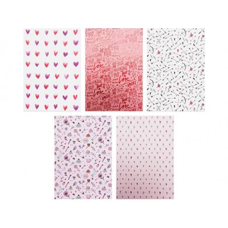 Acheter Bloc de papiers à motifs Amour - Rico Design - 16,79€ en ligne sur La Petite Epicerie - 100% Loisirs créatifs