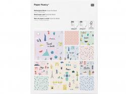 Acheter Bloc de papiers à motifs Voyage - Rico Design - 19,59€ en ligne sur La Petite Epicerie - 100% Loisirs créatifs