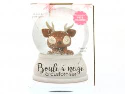 Acheter Boule à neige de Noel à customiser - 7,89€ en ligne sur La Petite Epicerie - Loisirs créatifs