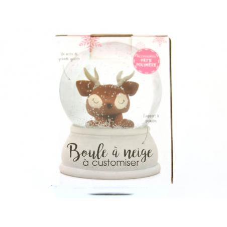 Acheter Boule à neige de Noel à customiser - 7,89€ en ligne sur La Petite Epicerie - 100% Loisirs créatifs
