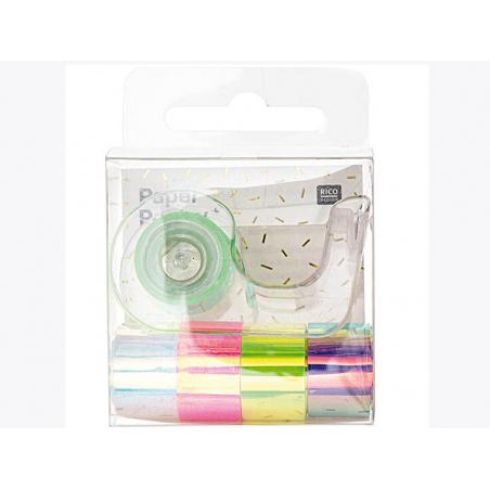 Acheter Lot de 5 mini masking tapes effet miroir - Rico Design - 7,69€ en ligne sur La Petite Epicerie - Loisirs créatifs