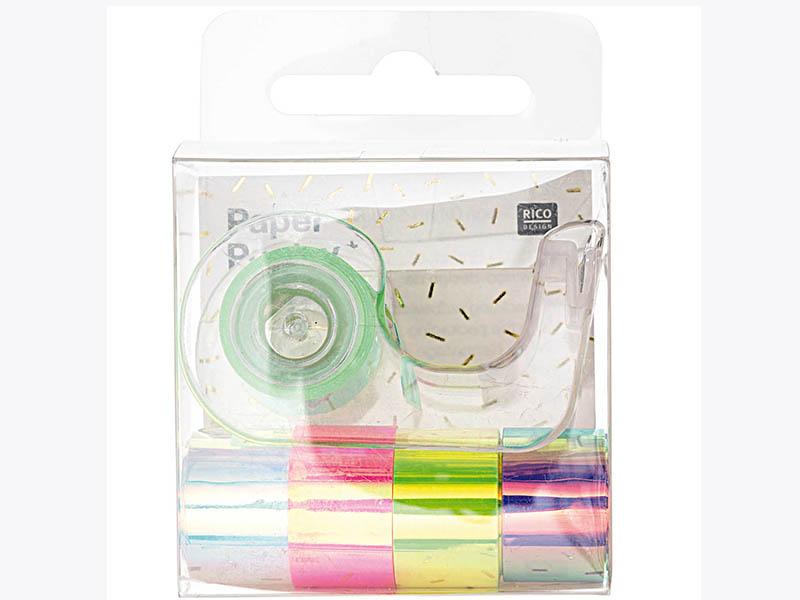Acheter Lot de 5 mini masking tapes effet miroir - Rico Design - 7,69€ en ligne sur La Petite Epicerie - 100% Loisirs créatifs