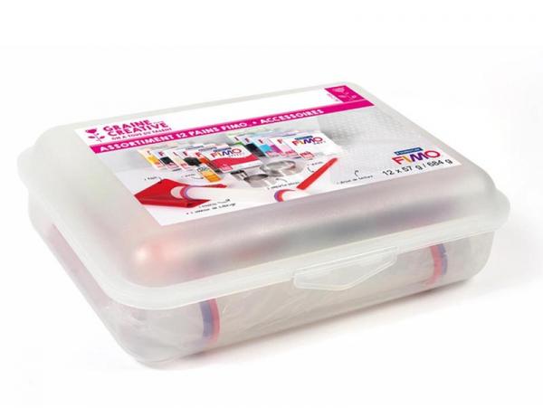 Acheter Assortiment 12 pains Fimo + accessoires - 38,99€ en ligne sur La Petite Epicerie - 100% Loisirs créatifs