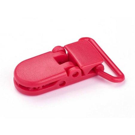 Acheter Pince clip accroche tétine pour bébé - rouge - 0,89€ en ligne sur La Petite Epicerie - 100% Loisirs créatifs