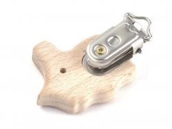 Acheter Pince clip accroche tétine pour bébé - bois clair - hippocampe - 3,39€ en ligne sur La Petite Epicerie - 100% Loisir...