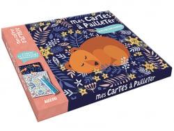 Acheter Mes cartes à pailleter - Nature enchantée - Jane Ryder Gray - 12,95€ en ligne sur La Petite Epicerie - Loisirs créatifs