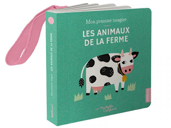 Acheter Imagier de poussette - Les animaux de la ferme - Michelle Carlslund - 6,95€ en ligne sur La Petite Epicerie - 100% L...