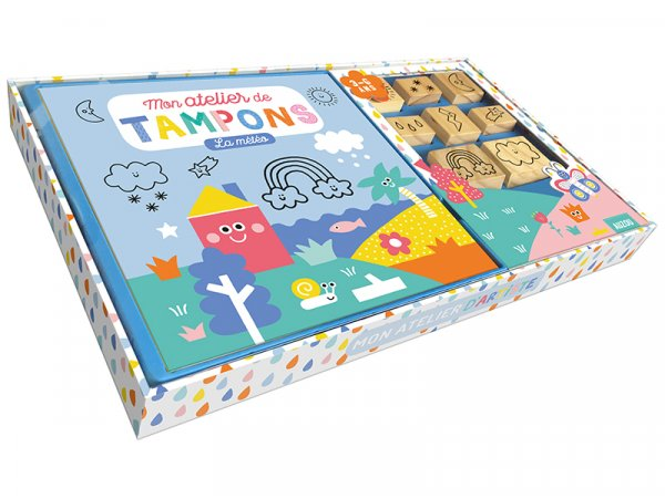 Acheter Mon atelier de tampons - la meteo - de Steffie Brocoli - 14,95€ en ligne sur La Petite Epicerie - 100% Loisirs créatifs