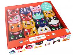 Acheter Coffret perles en bois pour bébés - Jolis matous - 16,50€ en ligne sur La Petite Epicerie - Loisirs créatifs