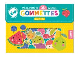 Acheter Pochette de 50 grandes gommettes - les fruits - Inga Wilmink - 4,95€ en ligne sur La Petite Epicerie - Loisirs créatifs