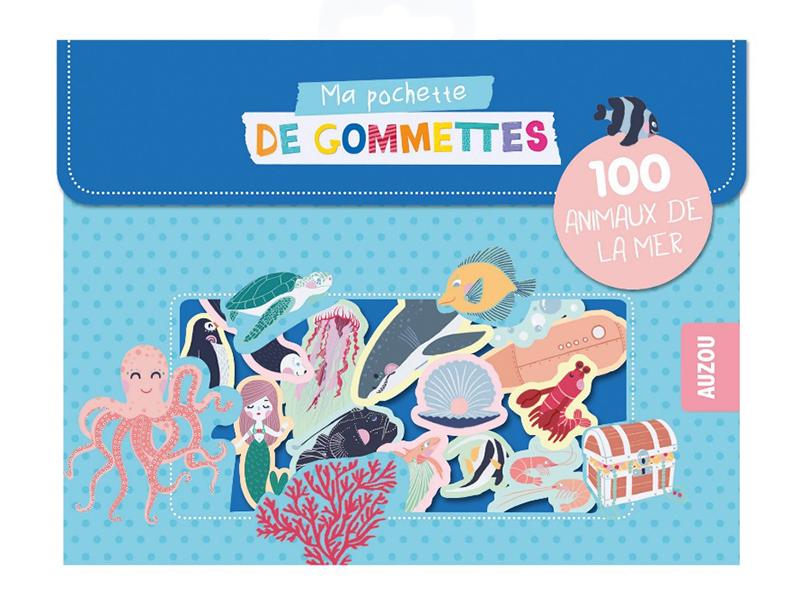 Acheter Pochette de 100 gommettes - animaux de la mer - Antoana Oreski - 3,95€ en ligne sur La Petite Epicerie - 100% Loisir...
