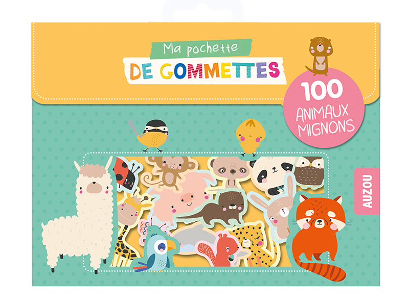 Acheter Pochette de gommettes - Les animaux mignons - Lucia Wilkinson - 3,95€ en ligne sur La Petite Epicerie - Loisirs créa...