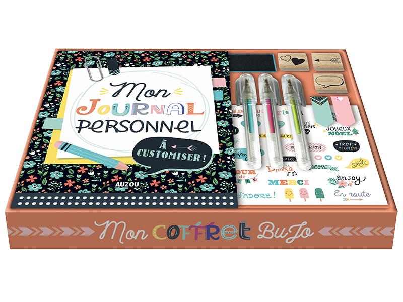 Acheter Coffret bujo / bullet journal Mon journal à personnaliser - Sandrine Monnier - 17,50€ en ligne sur La Petite Epiceri...