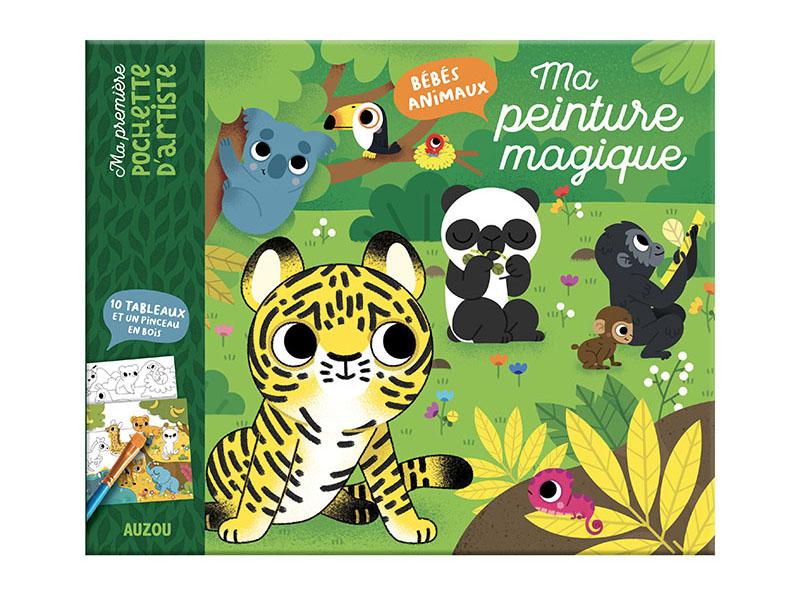 Acheter Ma peinture magique - les bébés animaux de Marta Sorte - 7,95€ en ligne sur La Petite Epicerie - Loisirs créatifs
