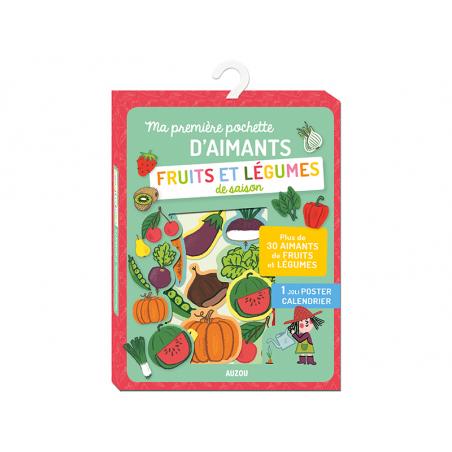 Acheter Ma première pochette d'aimants - Fruits et légumes de saison - Mylène Rigaudie - 7,49€ en ligne sur La Petite Epicer...