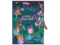 Acheter Carnet secret dessiné par Paula Mcgloin - motif jungle - 9,95€ en ligne sur La Petite Epicerie - Loisirs créatifs