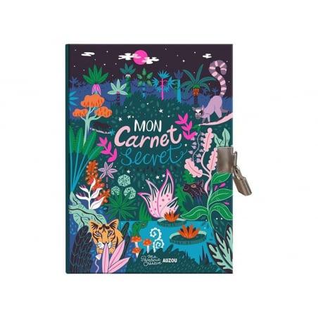 Acheter Carnet secret dessiné par Paula Mcgloin - motif jungle - 9,95€ en ligne sur La Petite Epicerie - 100% Loisirs créatifs