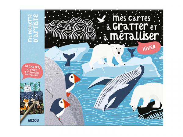 Acheter Mes cartes à gratter et à metalliser HIVER - Mel Armstrong - 8,95€ en ligne sur La Petite Epicerie - Loisirs créatifs