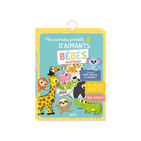 Acheter Ma première pochette d'aimants - Bébés animaux - Marta Sorte - 7,95€ en ligne sur La Petite Epicerie - Loisirs créatifs
