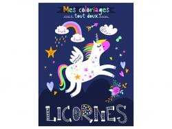 Acheter Livre - Licornes a colorier - Idees Book Creations - 6,00€ en ligne sur La Petite Epicerie - 100% Loisirs créatifs