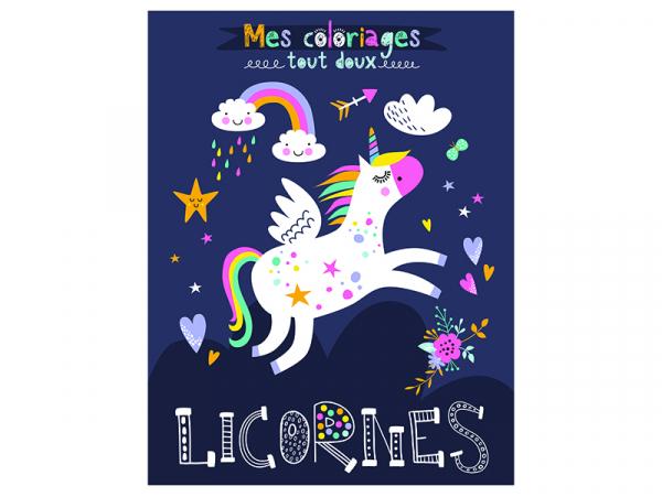 Acheter Livre - Licornes a colorier - Idees Book Creations - 6,00€ en ligne sur La Petite Epicerie - Loisirs créatifs