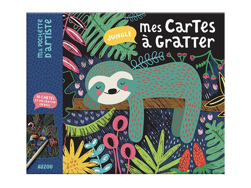 Acheter Mes cartes à gratter jungle - Mel Armstrong - 7,95€ en ligne sur La Petite Epicerie - Loisirs créatifs