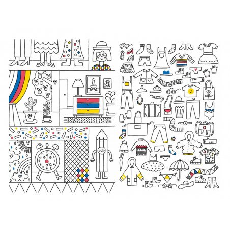 Acheter Livre 1001 choses à colorier de Steffie Brocoli - 14,95€ en ligne sur La Petite Epicerie - Loisirs créatifs